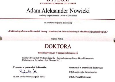 Dyplom doktorski